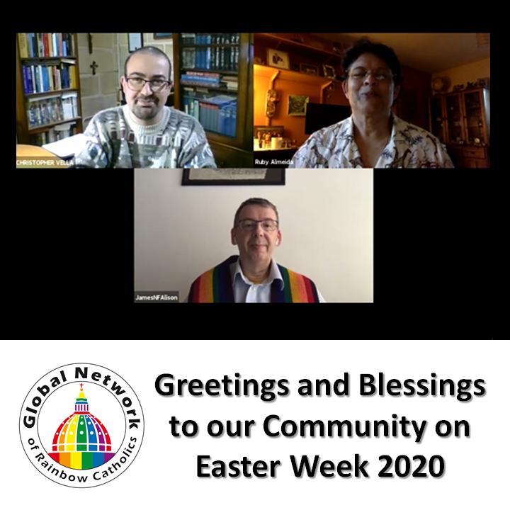 Saludos y Bendiciones en Semana Santa 2020