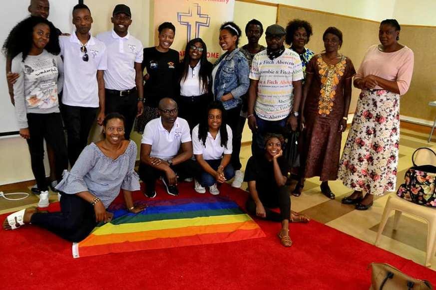 Dumisani Dube and the HTCC LGBTI Ministry