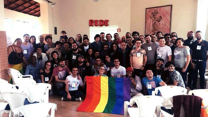 Cris Serra and Red Nacional Grupos Católicos LGBTIQ